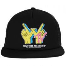 Orphan Trucker Snapback Baseball Cap alternate view 2