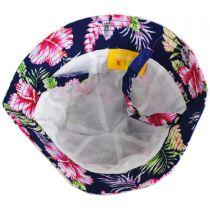 Baby Hibiscus Cotton Bucket Hat in