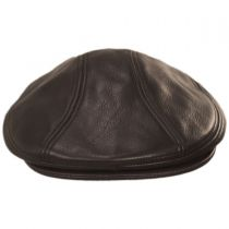 Leather Ivy Cap in