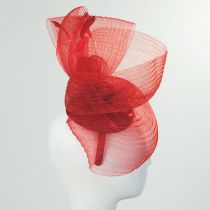 Crimped Mesh Fascinator Headband in