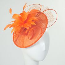Ginger Sinamay Straw Fascinator Headband in