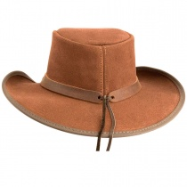 Plainsman Suede Western Hat in