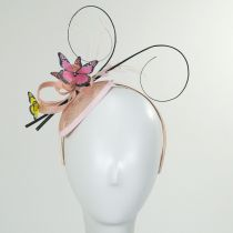 Papillon Sinamay Straw Fascinator Headband in