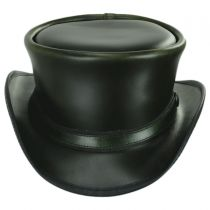 Hampton Leather Top Hat in