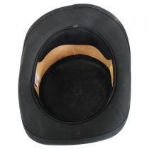 Parlor Leather Top Hat in