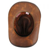 Stockade Waxed Cotton Western Hat in