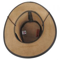 Crusher Leather Outback Western Hat in