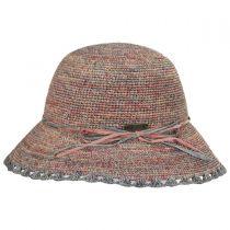 Baja Crocheted Straw Cloche Hat alternate view 7