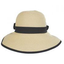 Hamptons Toyo Straw Sun Hat in