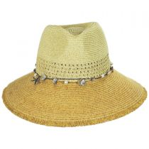 Playa Toyo Straw Fedora Hat alternate view 6