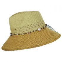 Playa Toyo Straw Fedora Hat in