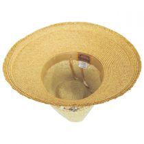 Playa Toyo Straw Fedora Hat alternate view 8