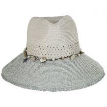 Playa Toyo Straw Fedora Hat alternate view 2