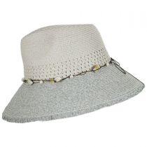 Playa Toyo Straw Fedora Hat alternate view 3