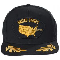 USA Snapback Baseball Cap alternate view 2