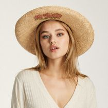 Jenna Raffia Straw Western Hat in