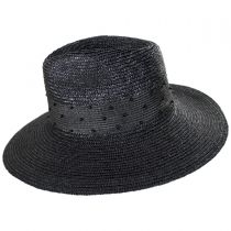 Macy Straw Fedora Hat in