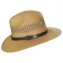 Case Vent Toyo Straw Safari Fedora Hat in