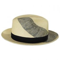 Tourbilon Panama Straw Fedora Hat in