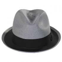 Theadore Milan Straw Trilby Fedora Hat in