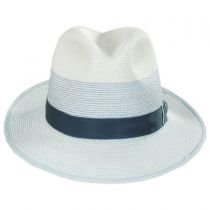 Toulouse Milan Hemp Straw Fedora Hat alternate view 2