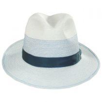 Toulouse Milan Hemp Straw Fedora Hat alternate view 6
