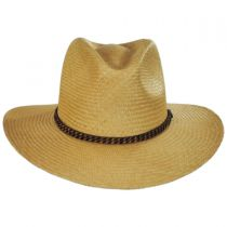 Brookdale Panama Straw Aussie Hat in