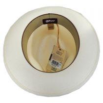 Aston Shantung Straw Trilby Fedora Hat in