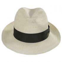 Baron Hemp Straw Trilby Fedora Hat in