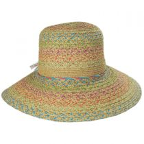 Prismatic Toyo Straw Sun Hat in