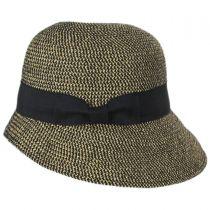 Tweed Braid Toyo  Straw Cloche Hat alternate view 3