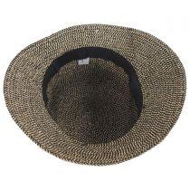 Tweed Braid Toyo  Straw Cloche Hat alternate view 4