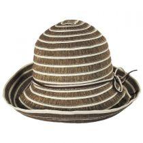 Metallic Ribbon Cloche Hat alternate view 2