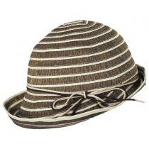 Metallic Ribbon Cloche Hat alternate view 3