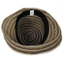 Metallic Ribbon Cloche Hat alternate view 4