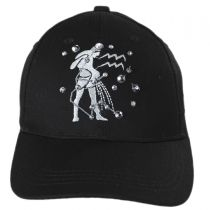 Aquarius Jewel Adjustable Baseball Cap alternate view 2