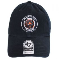 Detroit Tigers MLB Cooperstown Clean Up Strapback Baseball Cap Dad Hat in