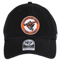 Baltimore Orioles MLB Cooperstown Clean Up Strapback Baseball Cap Dad Hat in