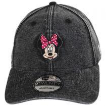 Disney Minnie Mouse Rugged 9Twenty Strapback Baseball Cap Dad Hat in