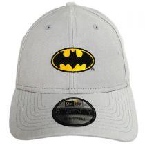 DC Comics Batman Rugged 9Twenty Strapback Baseball Cap Dad Hat alternate view 2