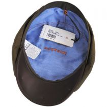 Hatteras Wax Cotton Blend Newsboy Cap in