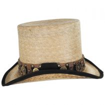 Quick Draw Palm Leaf Straw Top Hat alternate view 3