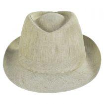 Linen Delave Trilby Fedora Hat alternate view 49