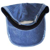 Iconic NASA Distressed Strapback Baseball Cap Dad Hat alternate view 4