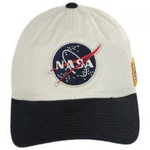 NASA United Slouch Strapback Baseball Cap Dad Hat alternate view 2