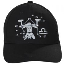 Libra Jewel Adjustable Baseball Cap in
