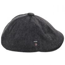 Hawker Cotton Denim Stitch Newsboy Cap in