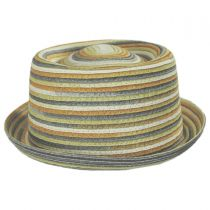 Spacedyed Toyo Straw Braid Pork Pie Hat alternate view 6