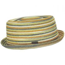 Spacedyed Toyo Straw Braid Pork Pie Hat alternate view 7