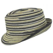 Spacedyed Braid Trilby Fedora Hat alternate view 11